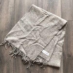 YSL*Saint Laurent* Wool Scarf
